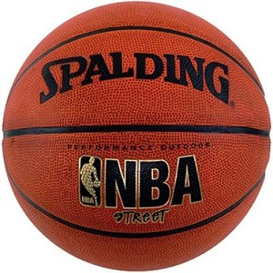 Spalding 63-250E Street Rubber Womens Basketball Size 6 28.5-inch