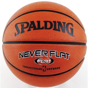Woman Basketball Ball - Spalding Never Flat Size 6 28.5 In Basketball