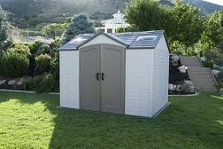 SO  Lifetime 6445 8x10 Side Entry Outdoor Storage Shed