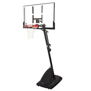 Spalding 54 In Polycarbonate Angled Portable Backboard System