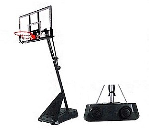 Spalding Hercules 52 In Acrylic Portable Basketball System