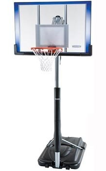 Spalding 54-Inch Acrylic Portable Basketball Hoop (Model 71564)