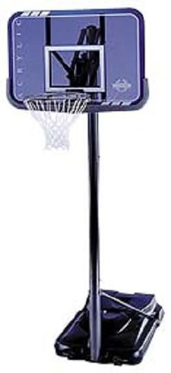 SO Lifetime 71587 44 In Acrylic Hoop Goal Portable Basketball System