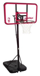 XSO Spalding Portable Basketball Hoop 72787 44-inch Polycarb Backboard