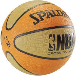 Spalding 73-714E Cross Traxxion 27.5-inch Youth Basketball