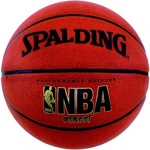 Spalding 73-770E Street Rubber Basketball Youth Size 27.5-inch