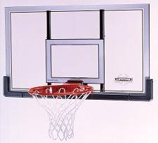 Lifetime Backboard and Rim Combo 73728 48-inch Polycarbonate