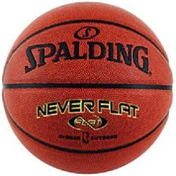 Women's Ball Spalding Never Flat Basketball 74-097E 28.5 In Basketball