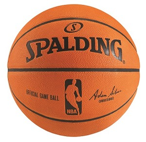Leather Basketball Game Ball Spalding 74-233E NBA Basketball