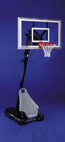 SO Huffy 74007 HYDRA RIB Portable Basketball System Goal