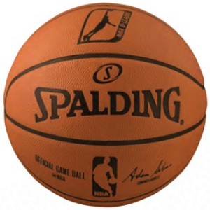 NBA D-LEAGUE OFFICIAL GAME BALL - Spalding 74849 Leather