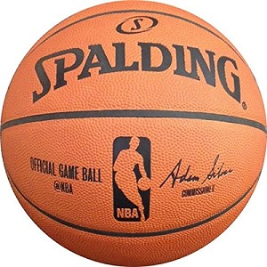 NBA OFFICIAL GAME BALL - Spalding 74876E Leather