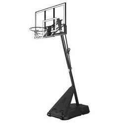 Spalding 52-Inch Acrylic Portable Basketball Hoop (Model 75748)