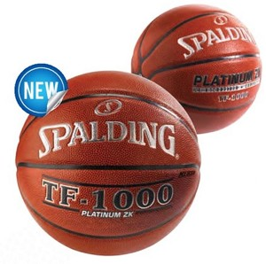 Spalding TF-1000 Platinum ZK 76-105 29.5-inch High School Basketball
