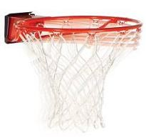 Red Spalding Basketball Goal Huffy 7888SP Pro Slam Red Breakaway Rim