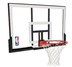 79307 Spalding Basketball Backboard and Rim Combo 52 inch Acrylic Goal