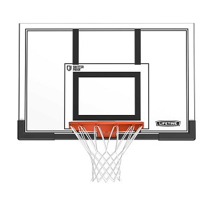Lifetime Basketball Backboard Rim 79910 50 In Polycarbonate Backboard