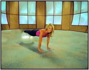 SO Fitness Essentials Yoga Pilates Exercise Ball