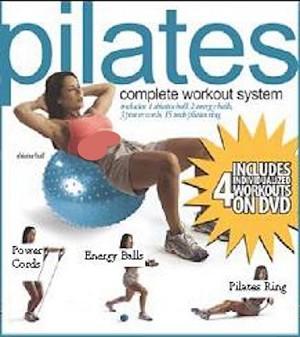 SO Pilates Combo Kit Set Shiatsu Energy Balls Ring Power Cord
