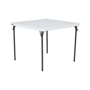 80783 Lifetime 37-Inch Commercial Card Square Table
