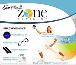SO Denise Austin Upper Zone Training Kit w/ DVD