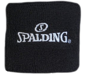 Spalding Black Wrist Band
