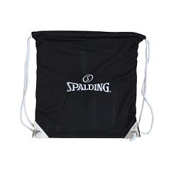 Spalding 8421S Black Cinch Pack for Athlete Gear