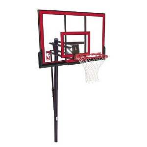 881655 Spalding In Ground Basketball Hoops 48 Polycarbonate Backboard
