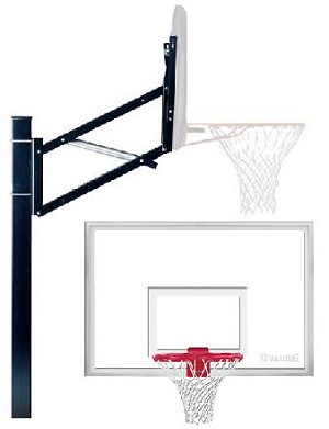 SO Huffy Spalding 88608 48 In Acrylic Backboard Basketball Hoop System
