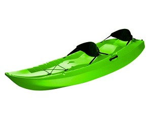 Lifetime Sit-on-Top Kayak - 10 ft. 90116 Lime Color Tandem Kayak