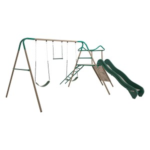 90462 Lifetime Climb and Slide Playset (Earthtone Colors)