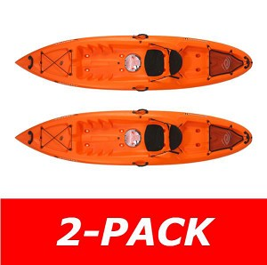 Lifetime Emotion Kayak Temptation 11-ft Orange 90464 2 Pack