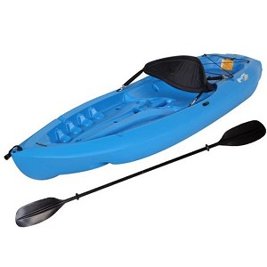 Lifetime Sit-On-Top Kayak 90470 8' Monterey Kayak + Paddle + Backrest