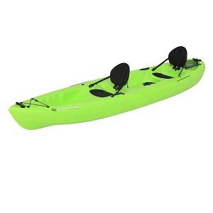 Lifetime 90476 Emotion Spitfire Sit On Top Kayak 12 Ft Tandem Lime Green