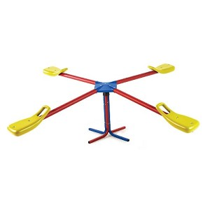 Lifetime 90511 Four-Person Teeter Totter In Primary Colors