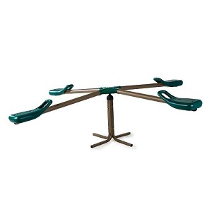 Lifetime 90551 Four-Person Teeter Totter In Earth Tones
