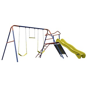 90558 Lifetime Climb and Slide Playset (Primary Colors)