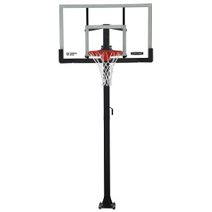 Lifetime 90569 In-Ground Basketball Hoop 60-inch Glass
