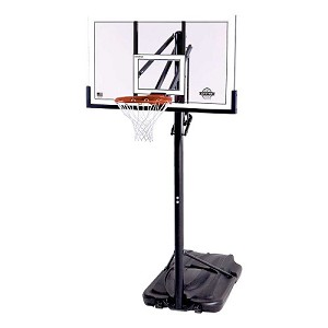Lifetime 54-Inch Polycarbonate Portable Basketball Hoop (Model 90600)