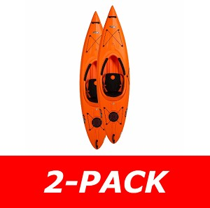 Lifetime 90735 Arrow Sit In Kayak (orange) 10 ft 3 in 2-Pack
