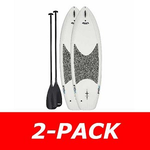 Lifetime 2-Pack Standing Paddleboard 90737 White 8-Foot Hooligan Board