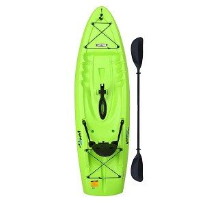 Lifetime 90785 Hydros Angler Kayak 101-in Length Lime Green 2 Pack