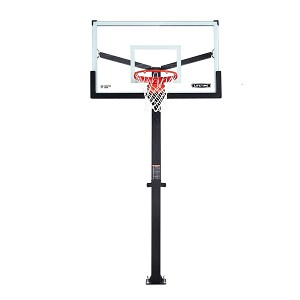 Lifetime 90916 Mammoth Basketball Goals 60-inch Glass Backboard System