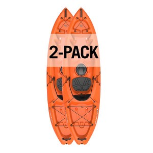 LIfetime Emotion Spitfire Kayaks 90950 Orange Color 9-Foot 2 Pack