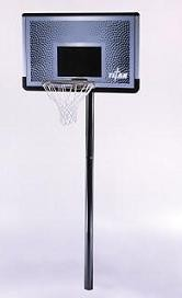 Lifetime 91794 Titan 46 Rectangular Impact-Ground Basketball Hoop