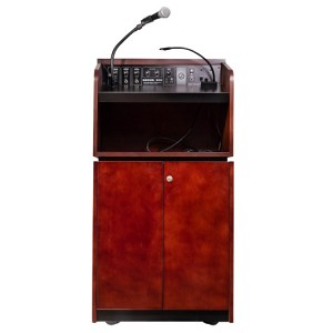Oklahoma Sound Wood Veneer Lecterns