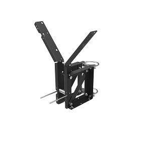 Lifetime Basketball Backboard Galvanized Mounting Bracket Kit 9594 Fixed Height