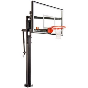 Goalrilla In-Ground Basketball System B3015W FT54 54-in Glass Backboard