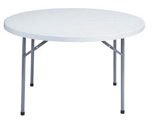 Round Folding Tables National Public Seating Bt-48r Gray 48 Round Top