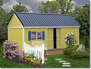 Brookhaven 10x16 ft Best Barns Wood Shed Barn Kit